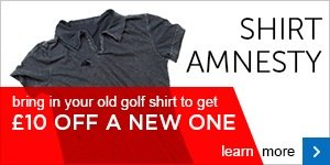 Shirt Amnesty - get £10 off a new shirt